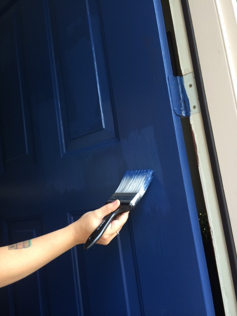 painting the front door