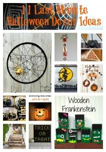 Last Minute Halloween Decor Roundup