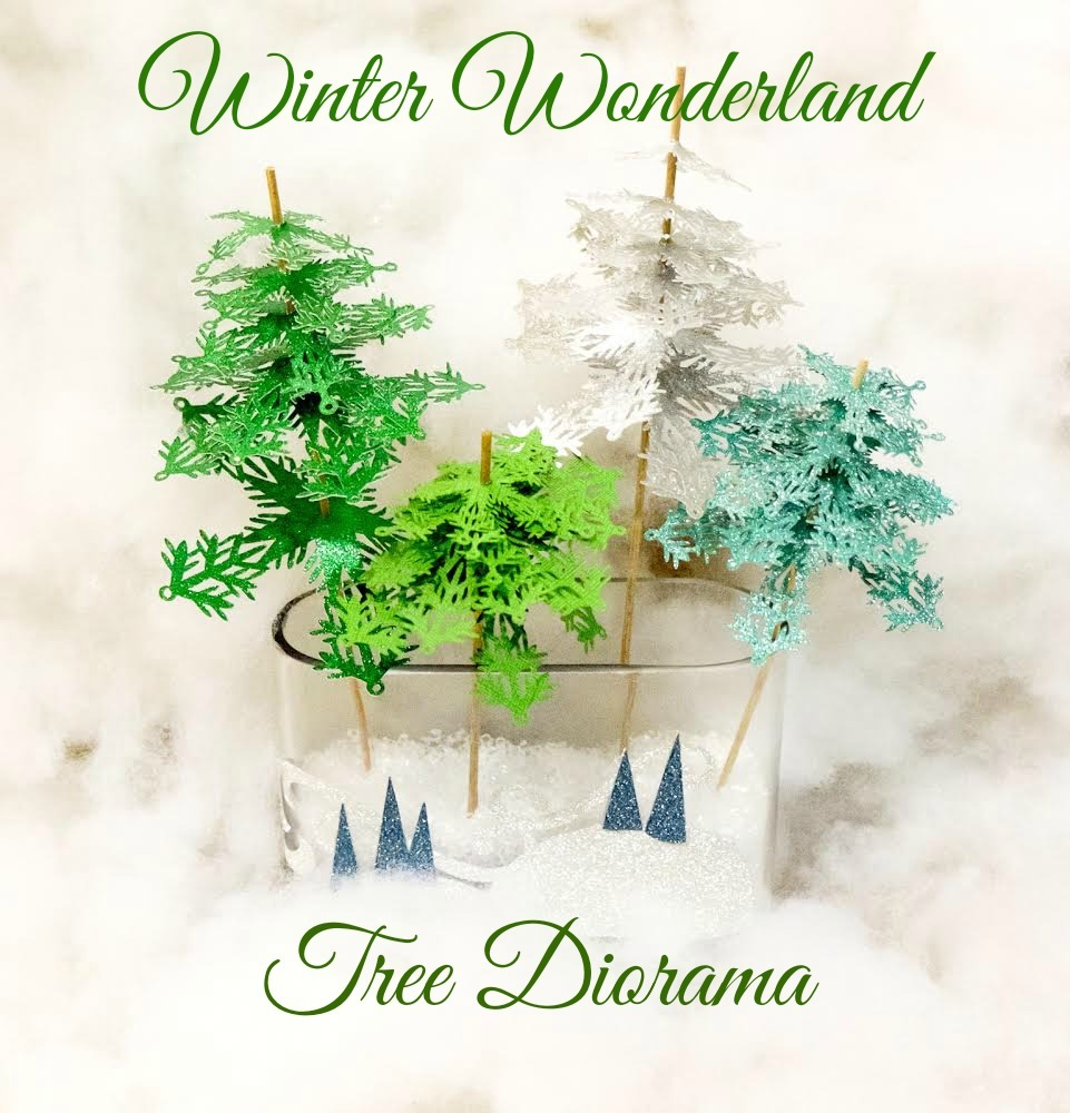 Winter Wonderland Tree Diorama Albion Gould