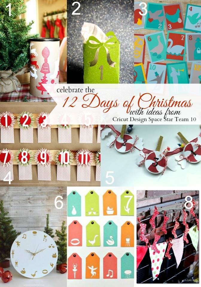 12 Days of Christmas with Design Space Star Team 10