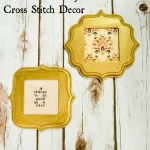 Downton Abbey Cross Stitch Decor