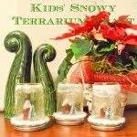 Kids' Snowy Terrarium Craft