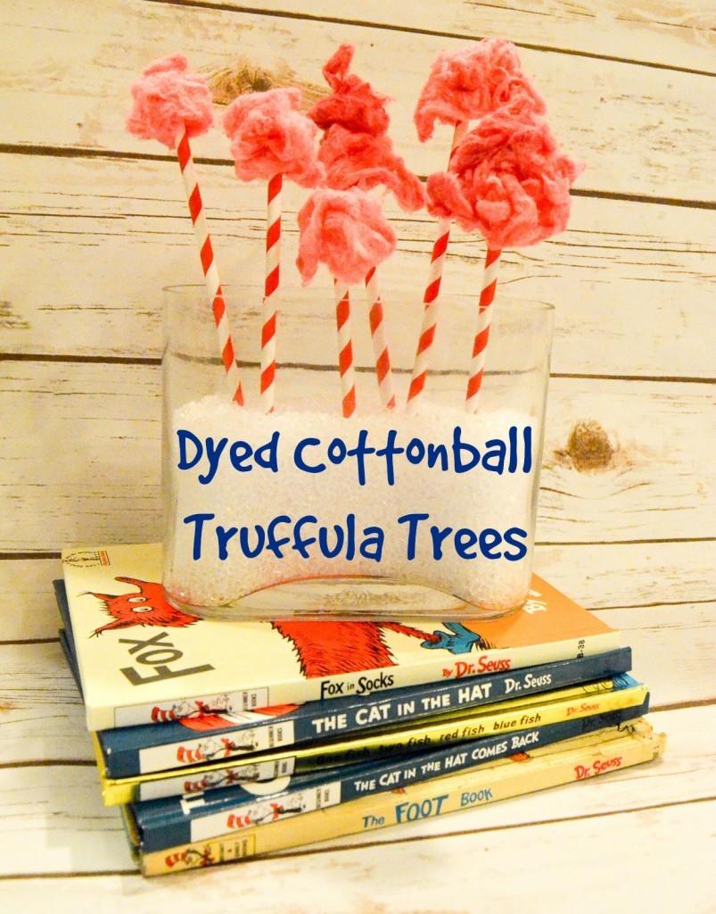 Dyed Cottonball Truffula Trees