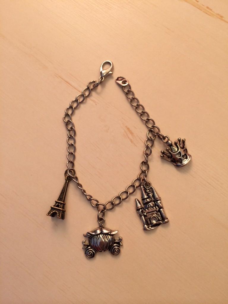 Madeline's charm bracelet