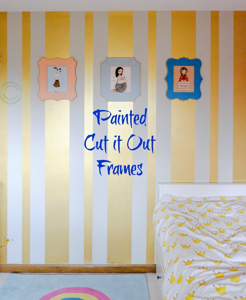 Painted Cut it Out Frames - Albion Gould