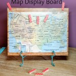 Map Display Board