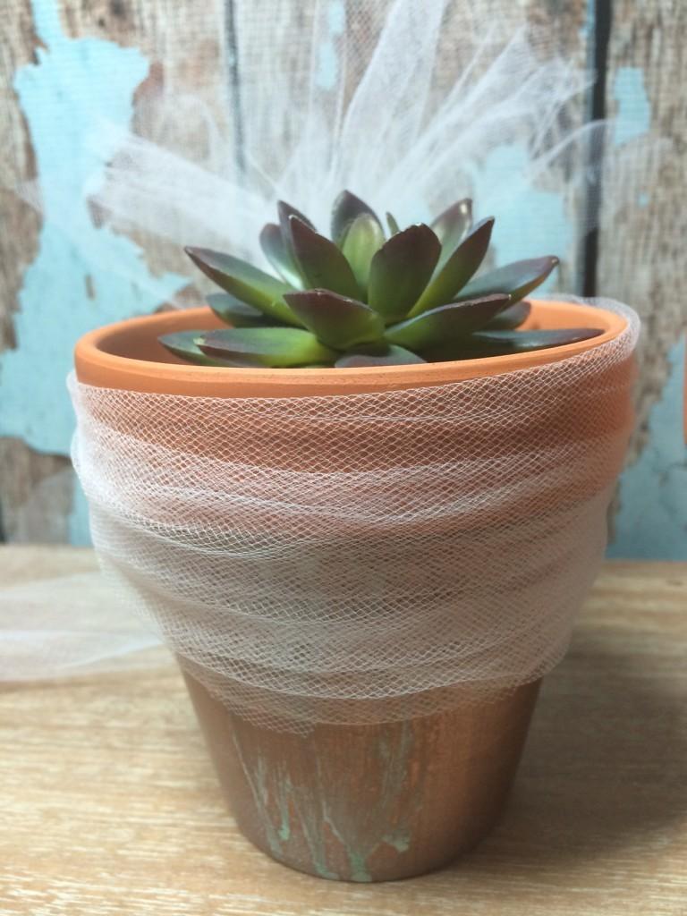 Bride Flowerpot