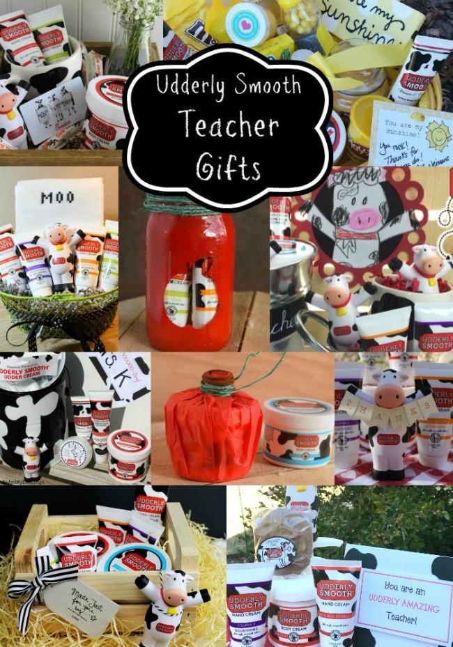 Udderly Smooth Teacher Gifts