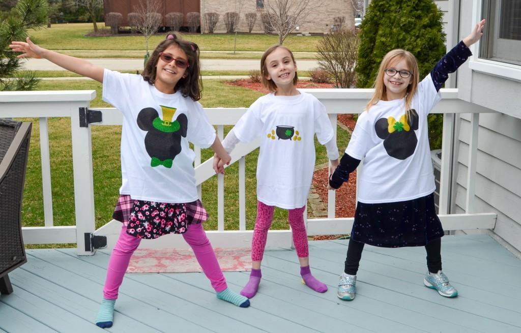 St Patrick's Day shirts