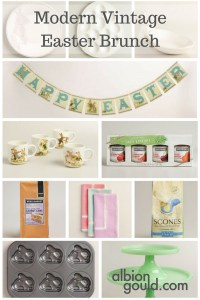Modern Vintage Easter Brunch