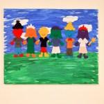 Colorful Kids Canvas Artwork