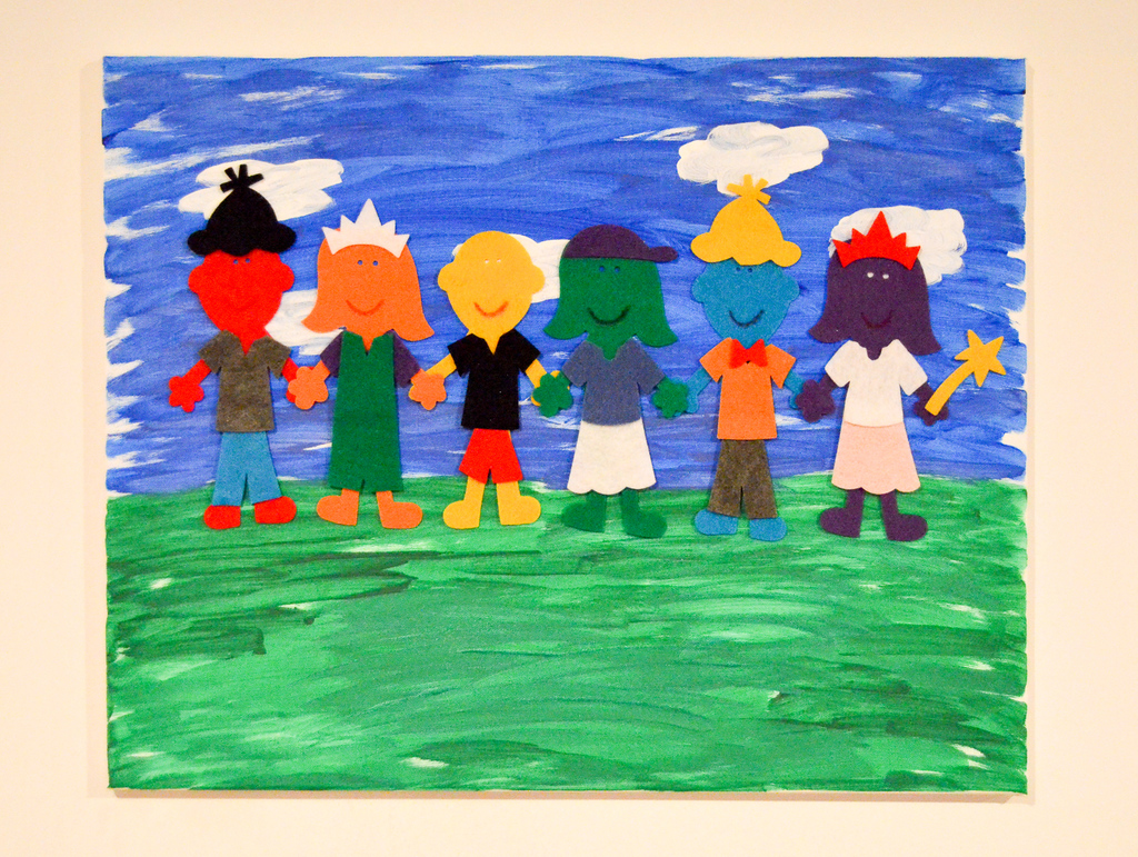Colorful Kids Canvas Artwork