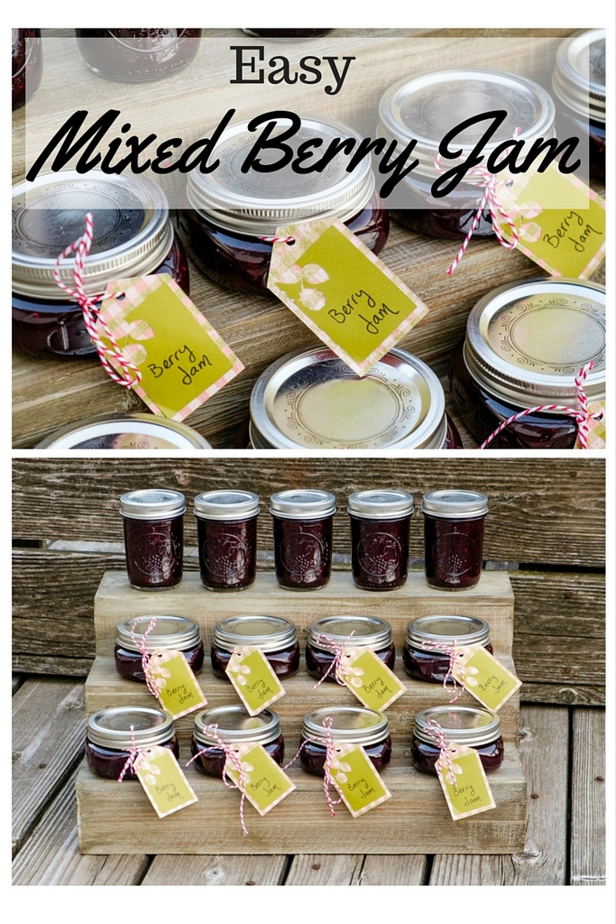 Easy Mixed Berry Jam