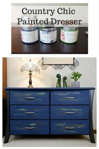 Country Chic Painted Dresser