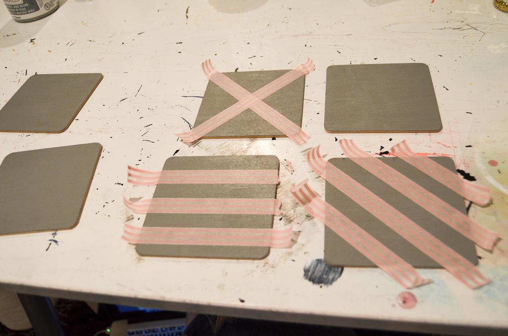 make designs with washi