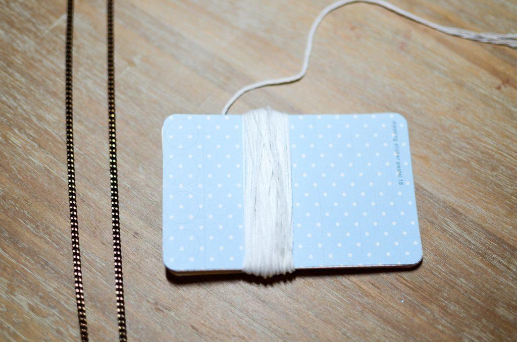 wrap the thread