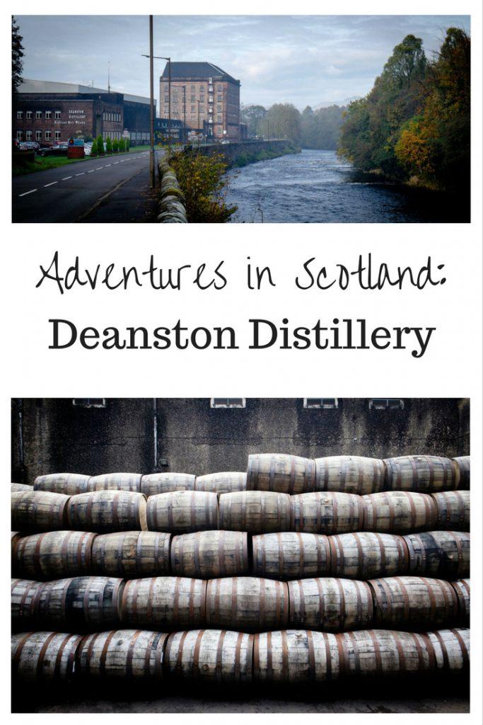 Adventures in Scotland: Deanston Distillery