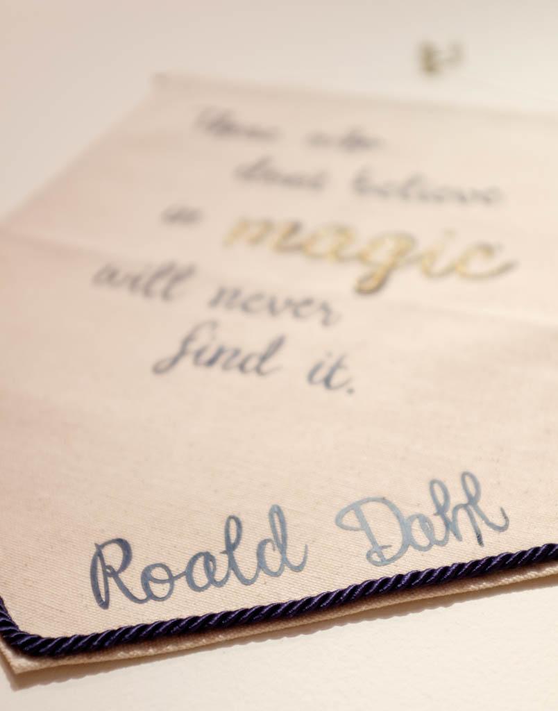 Roald Dahl Quote Banner