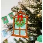 Christmas Window Felt Ornaments