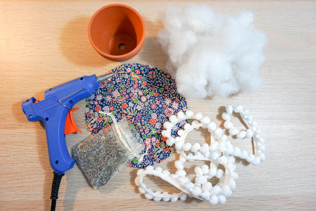 Clay Pot Pincushion