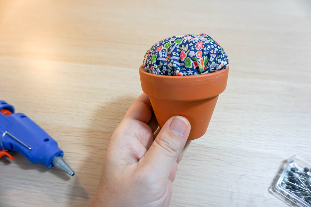Clay Pot Pincushion