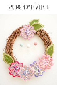 Spring Flower Wreath