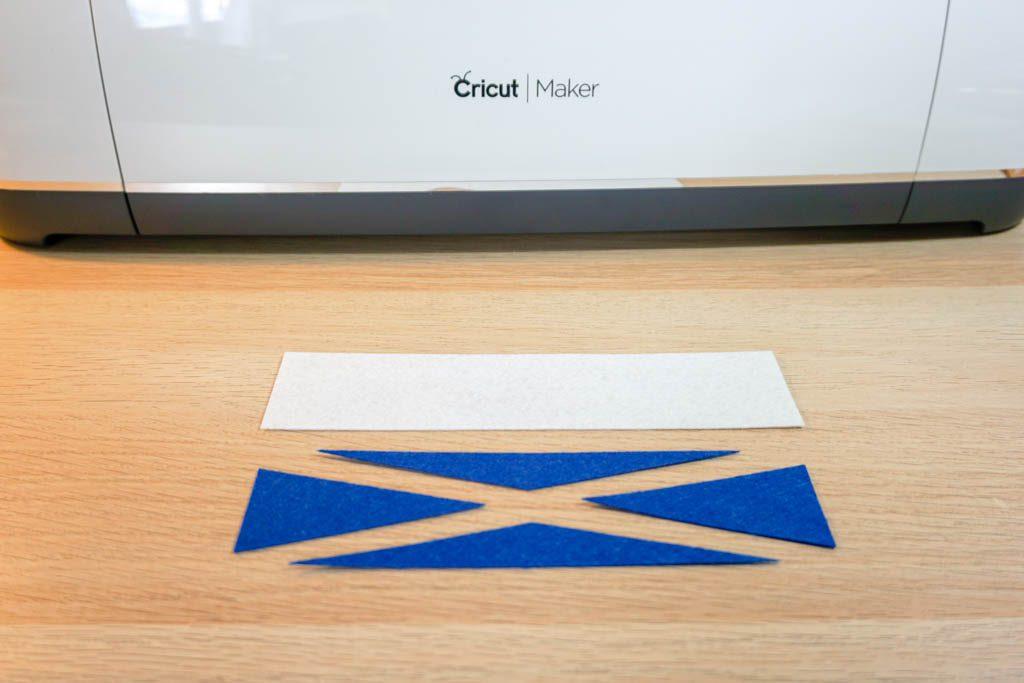 Felt Scotland Flag Bookmark