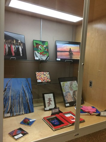 Art work from Marshall High School Students
