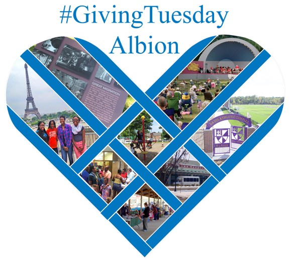 Giving Tuesday - Albion 2016