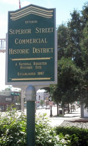 National Historic Downtown District - Albion Michigan