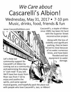 Live Music in Albion - June 2017