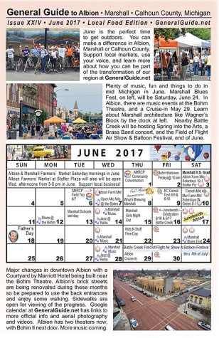 General Guide June 2017 more things to do in Albion this summer