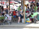 Lots of adventure at Albion's French Market.