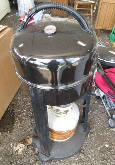 patio caddy char broil grill with 20 lb