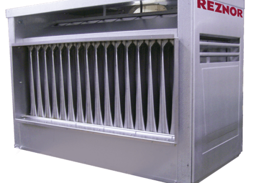 Reznor S Model X Indoor Gas Fired Gravity Vented Duct