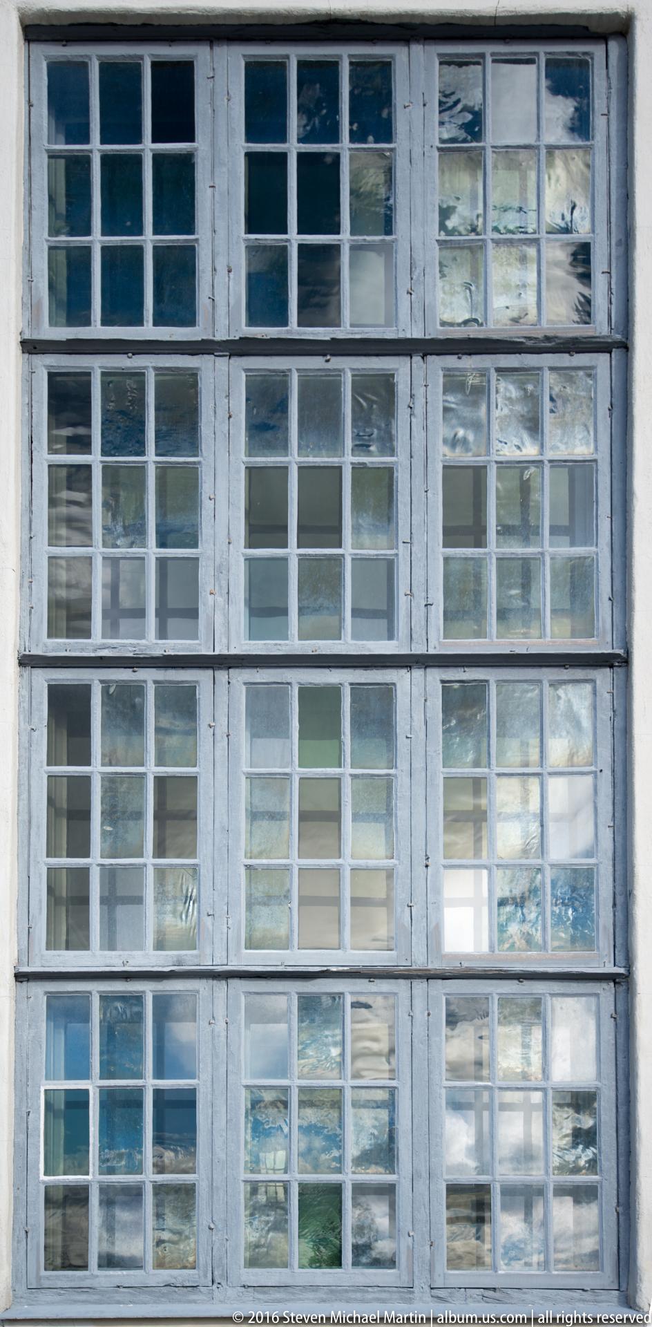 Roros Church window by Steven Michael Martin