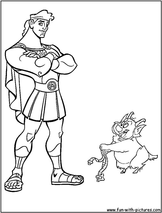 Coloriage Hercule #22 (Super-héros) – Album de coloriages