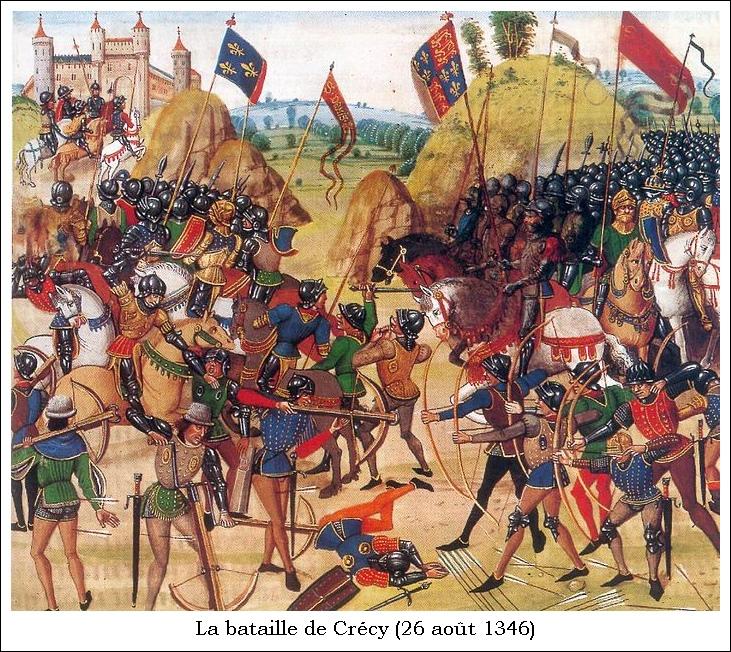 La bataille de Crécy (26 août 1346)