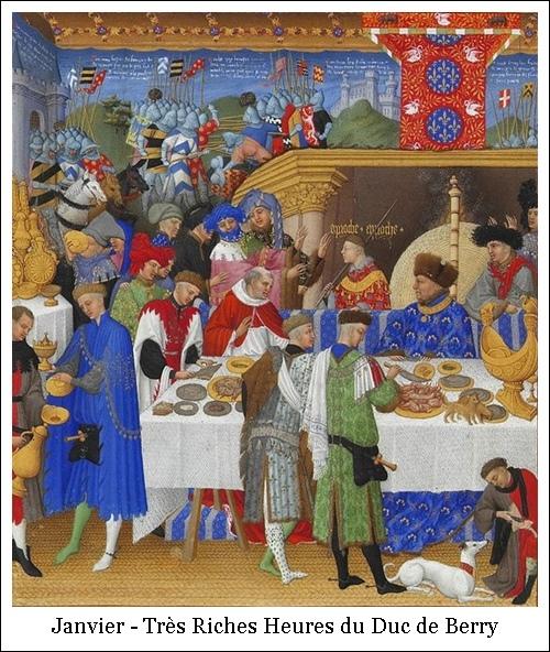 Janvier – Très Riches Heures du Duc de Berry