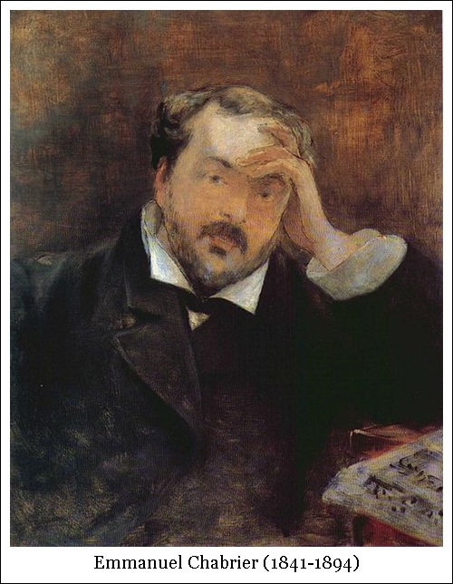 Emmanuel Chabrier (1841-1894)