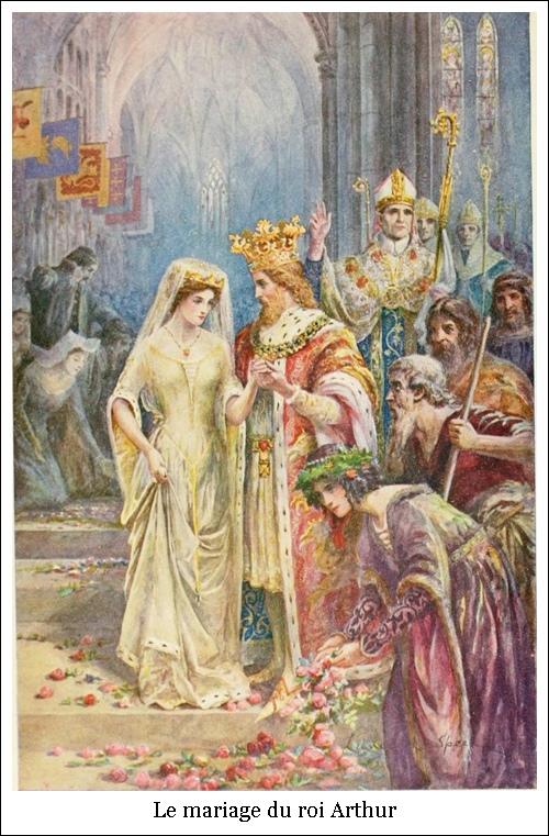 Le mariage du roi Arthur