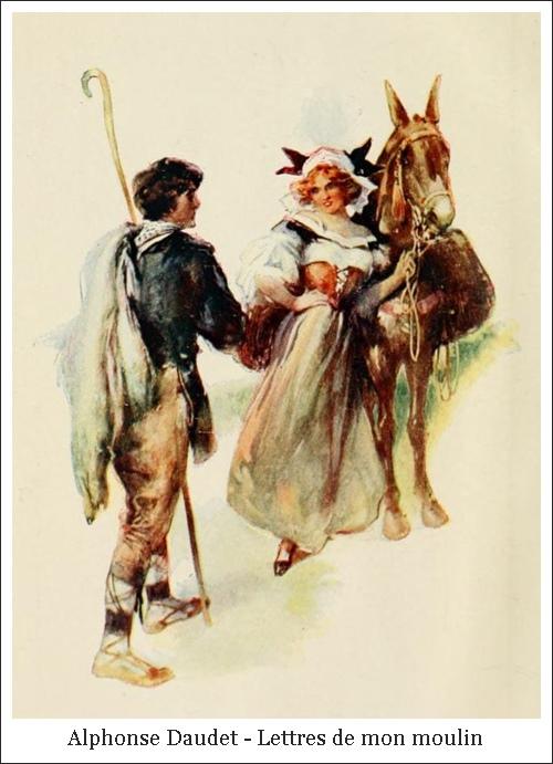 Alphonse Daudet – Lettres de mon moulin