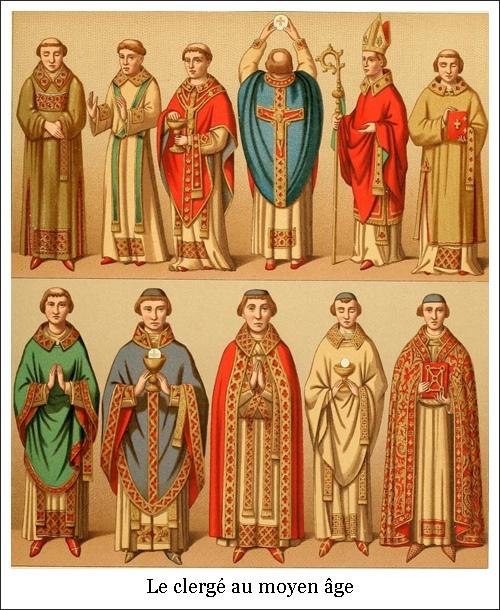 Le clergé au moyen âge