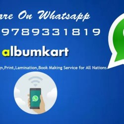 Make Your Photo Album Online with Whatsapp