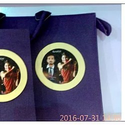 New Model Hard Cover Front and Back Photo Album Creation