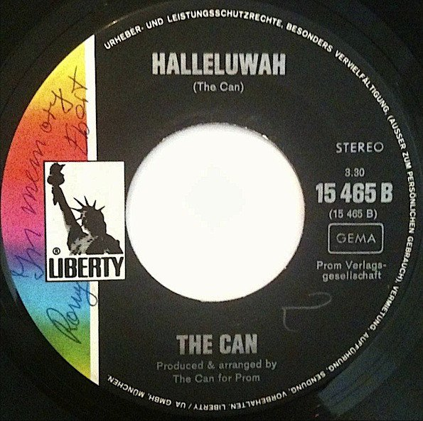 Halleluwah Single Can