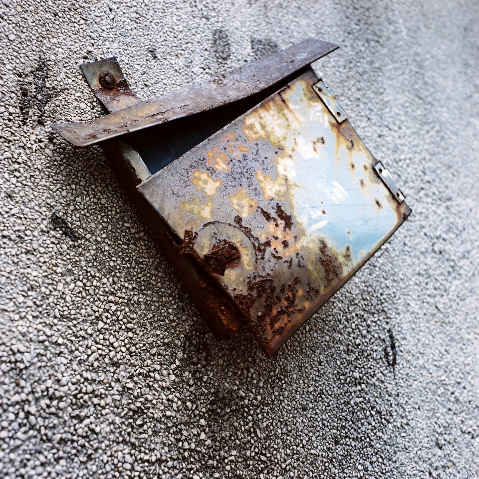 Disintegrated - Kodak Portra 400 shot at ISO400. Color negative film in 120 format shot as 6x6.