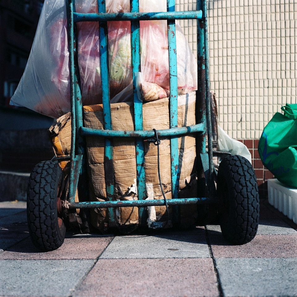 Dirty load - Fuji Pro 160NPC shot at EI 160. Color negative film in 120 format shot as 6x6.