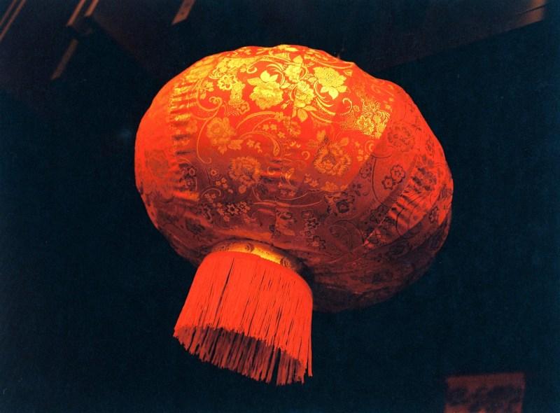 Lantern - Lomography Redscale XR50-200 shot at ISO100