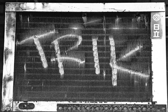 Cheap Trik - Shot on Kodak Tri-X 400 at EI1600. Black and white negative film in 35mm format.